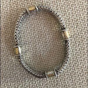 John Hardy wheat link bracelet